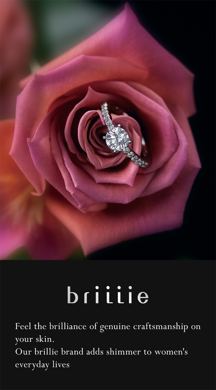 brillie Feel the brilliance of genuine craftsmanship on your skin. Our brillie brand adds shimmer to women's everyday lives