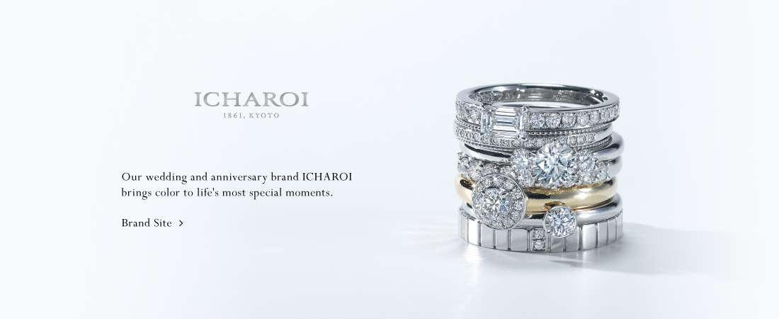 ICHAROI Brand SiteOur wedding and anniversary brand ICHAROI brings color to life's most special moments.