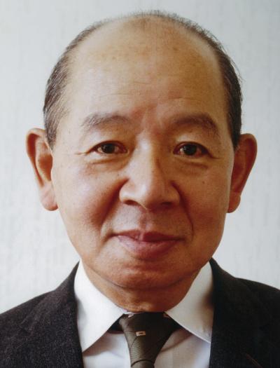 The fourth president Shin'ichi Imanishi