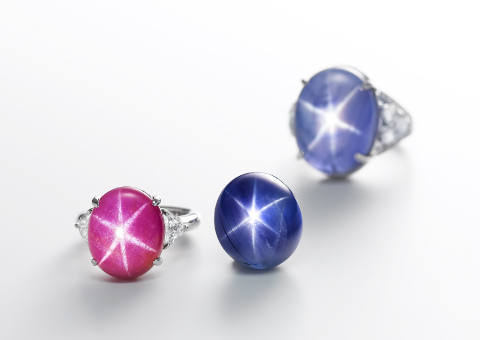 Star Ruby and Star Sapphire