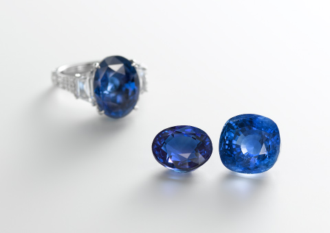 An emphasis on colored gemstones